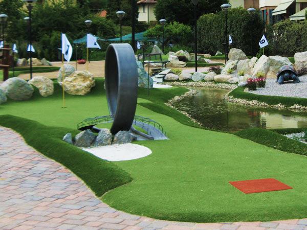Minigolf Adventure Golf Projektowanie I Budowa Minigolf Budownictwo Ogrodowe I Figury