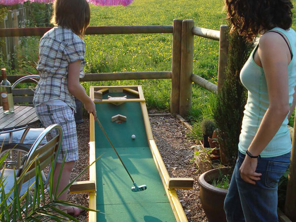 Garden Art - mini golf basic combi